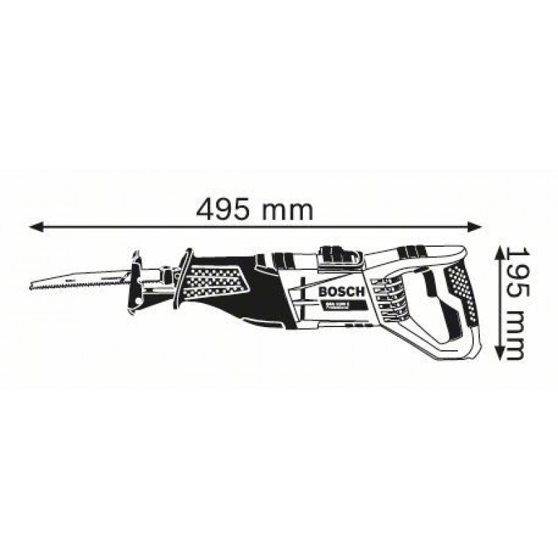 GSA 1100 E Σπαθόσεγα + 20 ΠΡΙΟΝΟΛΑΜΕΣ BOSCH
