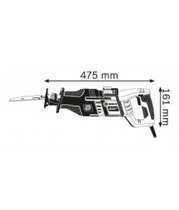 GSA 1300 PCE Σπαθόσεγα + 20 ΠΡΙΟΝΟΛΑΜΕΣ BOSCH