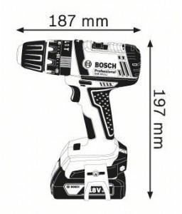 GSB 18-2 V-LI solo (χωρίς μπαταρίες και φορτιστή) ΚΡ. ΔΡΑΠ/ΒΙΔΟ Μπαταρίας BOSCH