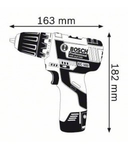 GSR 10,8 V-EC (2x2,0Ah) L-boxx ΔΡΑΠ/ΒΙΔΟ Μπαταρίας BOSCH