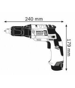 GSR 10,8 V-EC TE (2x2,5Ah) L-Boxx Δραπανοκατσάβιδο BOSCH