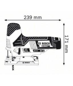 GST 10,8 V-LI (2x2.0 Ah) L-Boxx Σέγα Μπαταρίας BOSCH