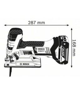 GST 18 V-LI S (2x4,0 Ah) L-Boxx Σέγα Μπαταρίας BOSCH