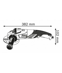GWS 15-125 CITH Μεσαίος Γωνιακός Τροχός BOSCH