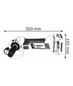 GWS 18 V-LI solo (χωρίς μπαταρίες και φορτιστή) L-Boxx ΤΡΟΧΟΣ Μπαταρίας BOSCH