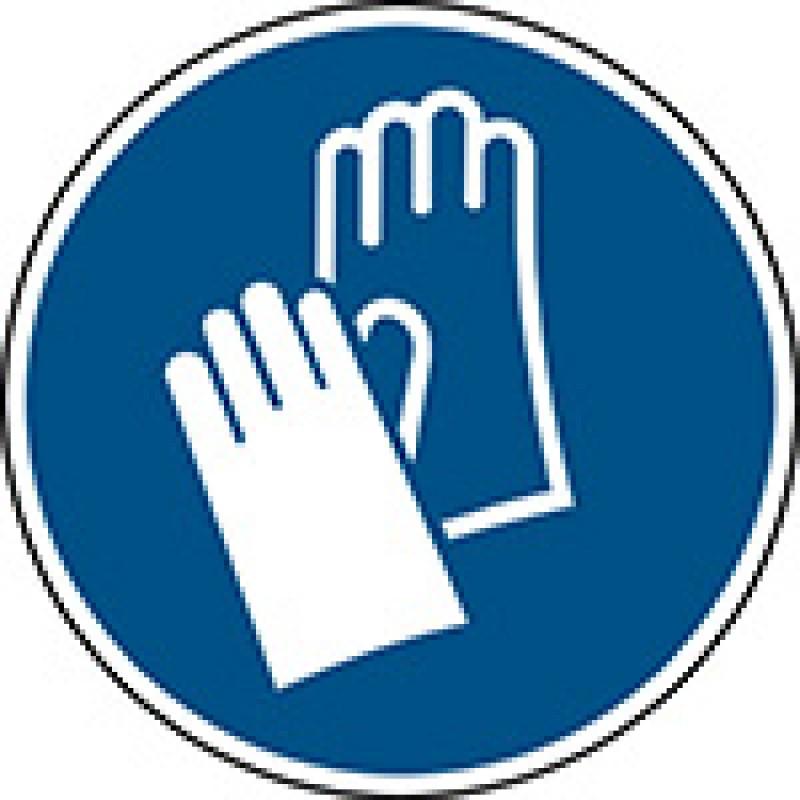 M009 - Να φοράτε προστατευτικά γάντια