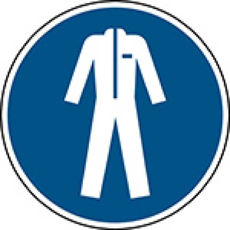 M010 - Να φοράτε προστατευτικό ρουχισμό
