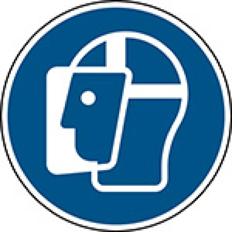 M013 - Φοράτε ασπίδα προσώπου