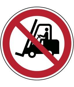P006 - Δεν επιτρέπεται η πρόσβαση για περονοφόρα ανυψωτικά οχήματα και άλλα βιομηχανικά οχήματα