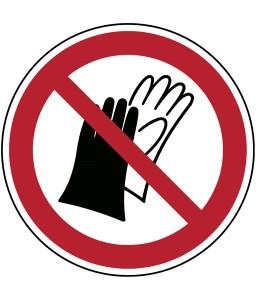 P028 - Μην φοράτε γάντια