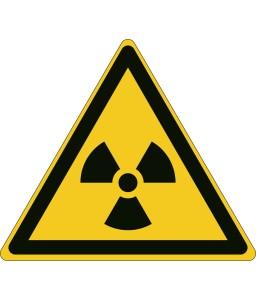W003 - Προσοχή Ραδιενεργό υλικό ή ιοντίζουσα ακτινοβολία
