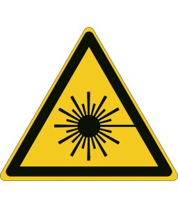 W004 - Προσοχή δέσμη λέιζερ