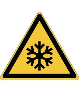 W010 - Προσοχή Συνθήκες χαμηλής θερμοκρασίας / κατάψυξης
