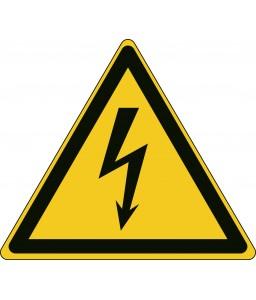 W012 - Προσοχή Ηλεκτρική ενέργεια