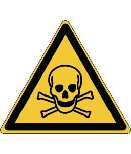 W016 - Προσοχή Τοξικό υλικό