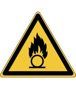 W028 - Προσοχή Οξειδωτική ουσία
