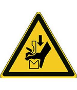 W030 - Προσοχή Η σύνθλιψη του χεριού στην πρέσα