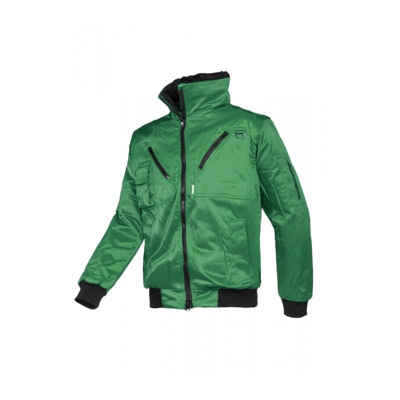 Hawk Χειμερινό μπουφάν με αποσπώμενα μανίκια Πράσινο SIOEN
