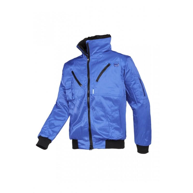 Hawk Χειμερινό μπουφάν με αποσπώμενα μανίκια Μπλέ Ρουά SIOEN