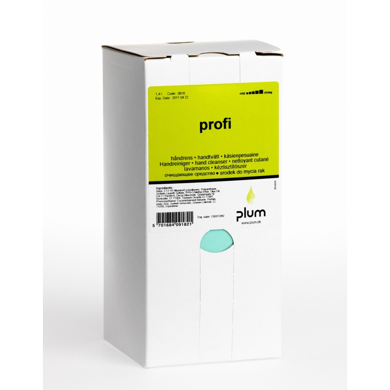 0918 Profi Καθαριστικό Χεριών 1.4 l Σακούλα σε Κουτί PLUM