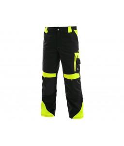 SIRIUS BRIGHTON WINTER Παντελόνι εργασίας μαύρο - κίτρινο χειμερινό CXS
