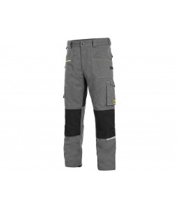 STRETCH Παντελόνι εργασίας ελαστικό γκρί - μαύρο CXS