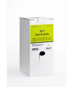 1504 3in1 Hair & Body Κρεμοσάπουνο 1.4 l Σακούλα σε Κουτί PLUM