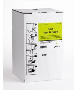 1512 3in1 Hair & Body Κρεμοσάπουνο 4.2 l Σακούλα σε Κουτί PLUM