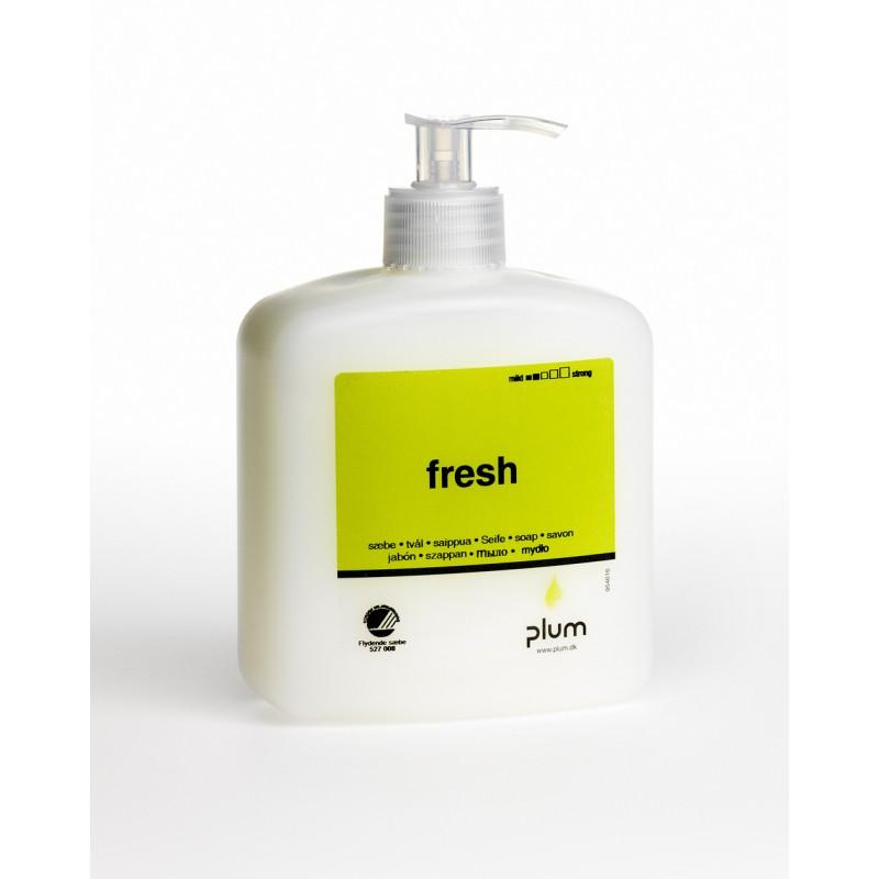 1641 Fresh Κρεμοσάπουνο 600 ml Μπουκάλι με Αντλία PLUM