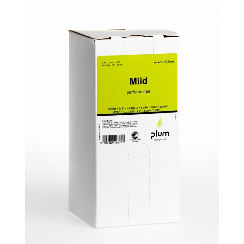 1667 Mild Κρεμοσάπουνο 1.4 l Σακούλα σε Κουτί PLUM