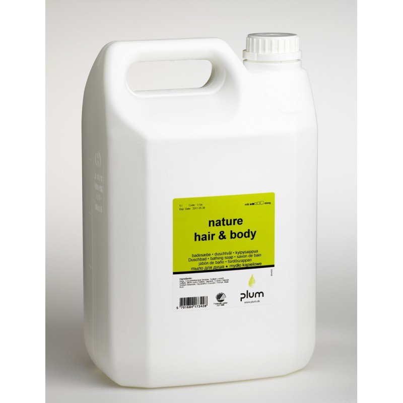 1734 Fresh Hair & Body Κρεμοσάπουνο 5.0 l Δοχείο PLUM