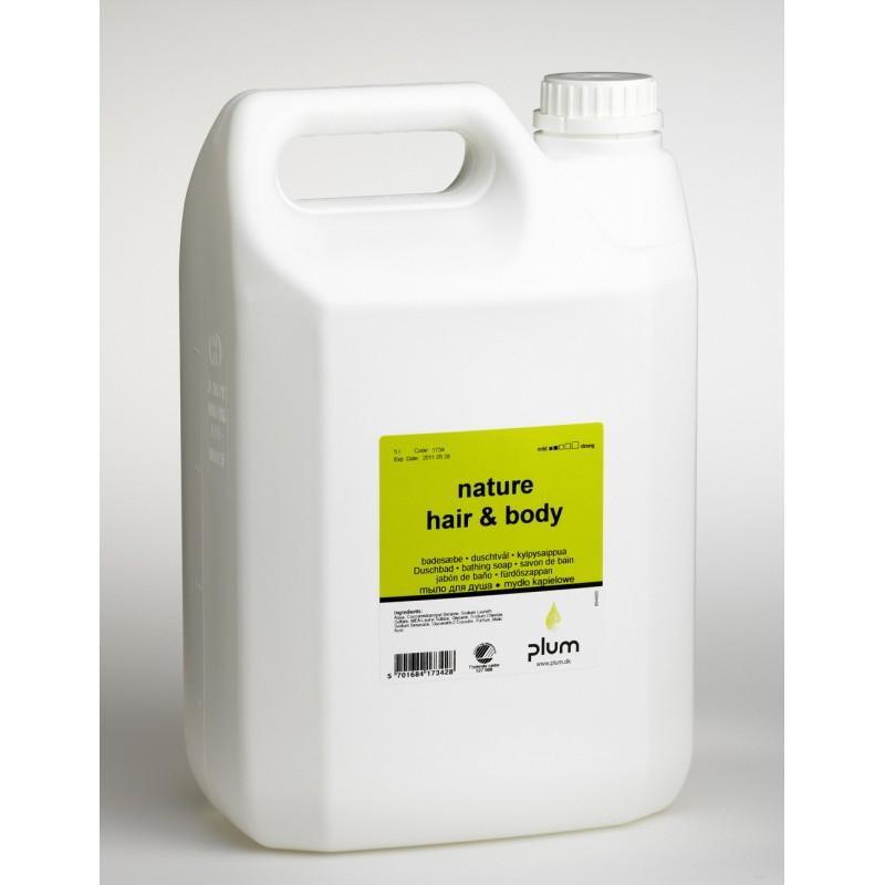1734 Nature Hair & Body Κρεμοσάπουνο 5.0 l Δοχείο PLUM