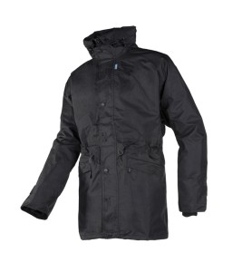 Adelans 3 σε 1 Αδιάβροχο Μπουφάν με αποσπωμένο FLEECE σακάκι Μαύρο SIOEN