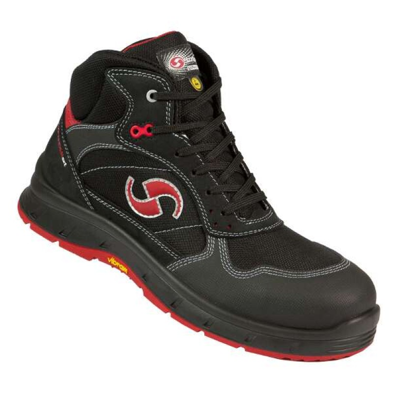SPRINT παπούτσια εργασίας με προδιαγραφές S3 - SRC ESD CLASS 3 SIXTON