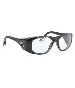2370 03 105 5400 Γυαλιά Ασφαλείας Διαφανή Αντιχαρακτικά SUPERIOR BLACK SIZE. 54 PC AS UV