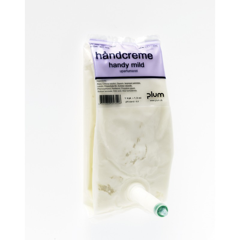 2535 Handy Mild Κρέμα περιποίησης χεριών μετά την Εργασία 0.5 l Σακούλα PLUM