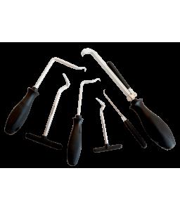 2633HD/S6 αφαίρεση ροδέλων στεγάνωσης και μαλακών σωλήνων μαζί με σετ εργαλείων συλλογής BAHCO
