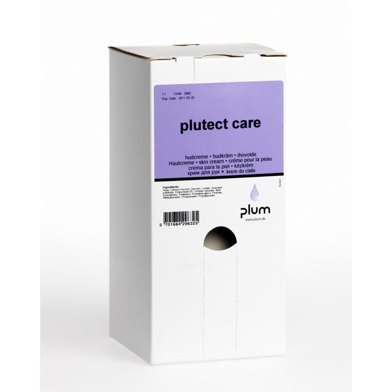 2963 Plutect Care Κρέμα περιποίησης χεριών πριν και μετά την Εργασία 1.0 l Σακούλα σε Κουτί PLUM
