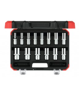 3300008 Σετ καρυδάκια 1/2in 6γωνα 10-32mm 14τμχ GEDORE RED