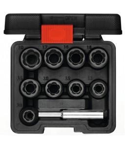 3300034 Καρυδάκια εξαγωγής 1/2in 10-19mm 10τμχ GEDORE RED
