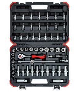 3300054 Σετ καρυδάκια 3/8in 6-24mm 59τμχ GEDORE RED