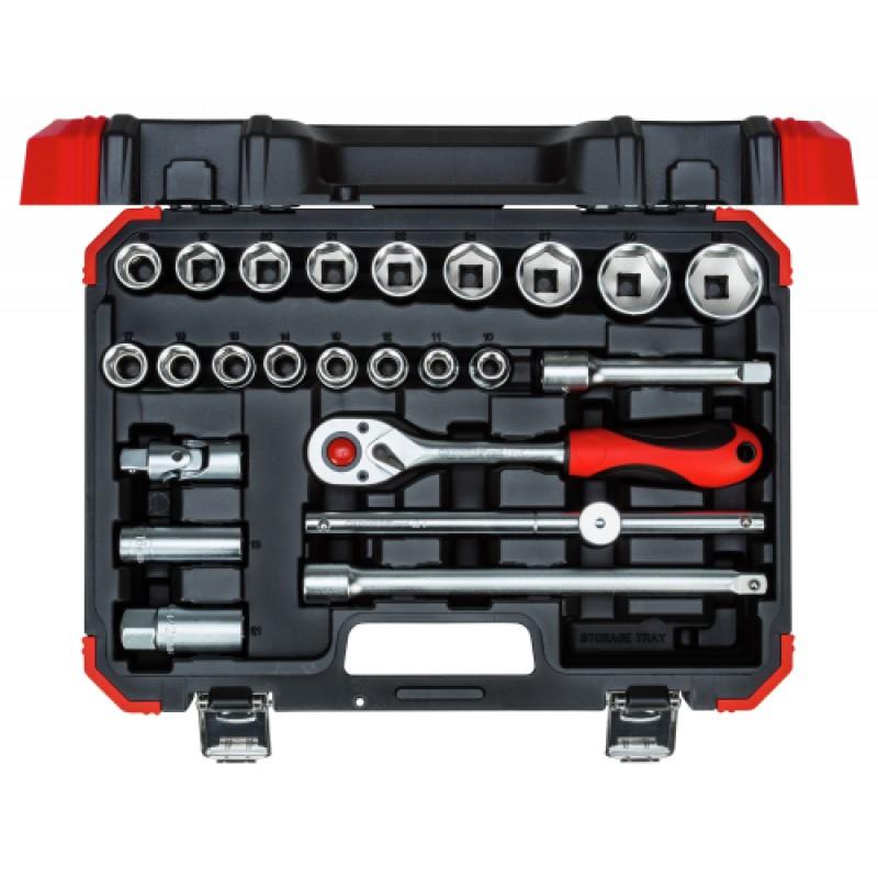 3300055 Σετ καρυδάκια 1/2in 10-32mm 24τμχ GEDORE RED