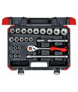 3300056 Σετ καρυδάκια 1/2in 10-32mm 24τμχ GEDORE RED