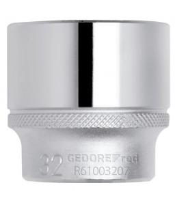 3300257 Καρυδάκι 1/2in 6γωνο 8mm μήκος 38mm GEDORE RED