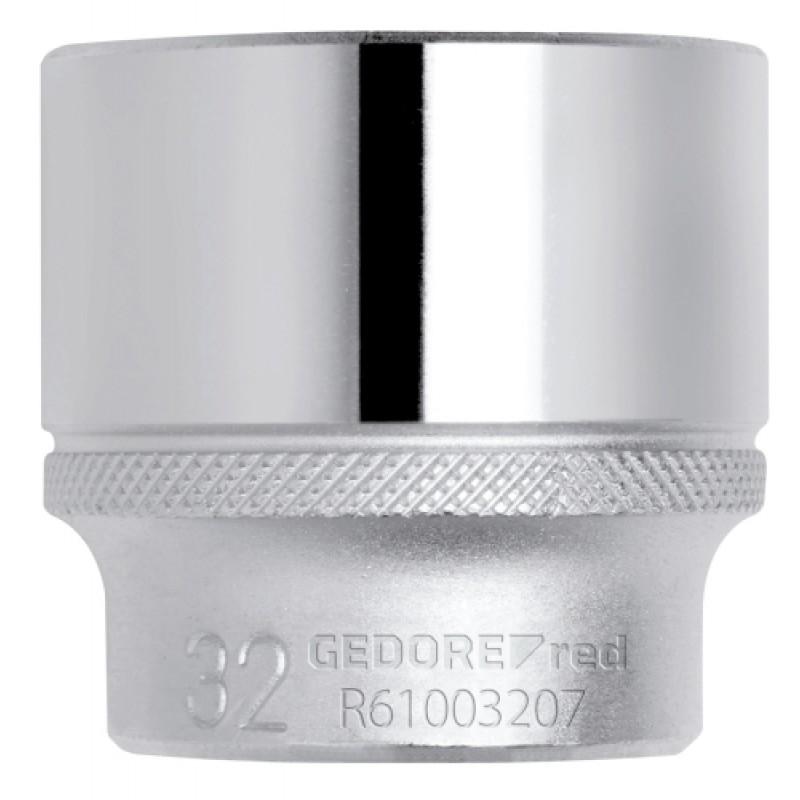 3300274 Καρυδάκι 1/2in 6γωνο 25mm μήκος 42mm GEDORE RED