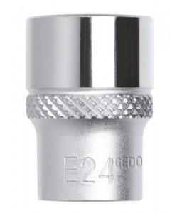 3300348 Καρυδάκι 1/2in με μύτη TX E8 μήκος 38mm GEDORE RED