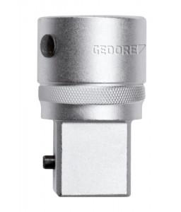 3300516 Αντάπτορας μείωσης μεγέθους 1 x 3/4 4γωνο μήκος 65mm GEDORE RED