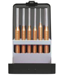3300823 Σετ κυλινδρικών ζουμπάδων διάμ.3-8mm + θήκη 6τεμ GEDORE RED