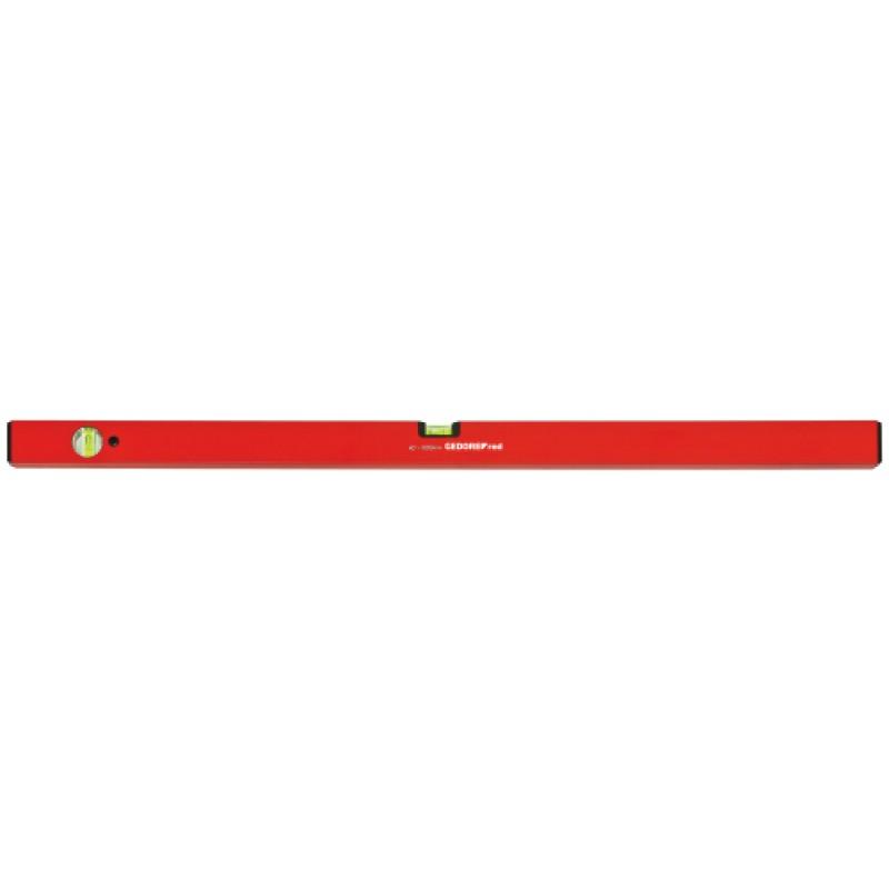 3301423 Αλφάδι φυσαλίδας, μήκ.1000mm 2φυσαλίδες, αλουμίνιο. GEDORE RED
