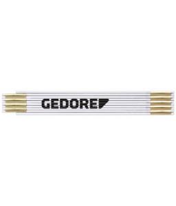 3301426 Ξύλινο πτυσσόμενο μέτρο μήκ.2μέτρα κλ.III ξύλο οξιάς GEDORE RED
